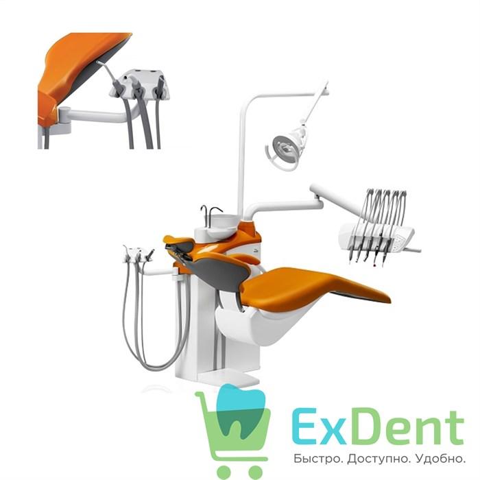 Стоматологическая установка DIPLOMAT ADEPT DA170 с креслом DM20, верхняя подача инструментов - фото 27409