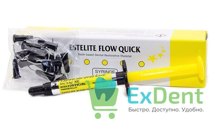Estelite (Эстелайт) Flow Quick A3 - среднетекучий композитный материал для реставраций (3,6 г) - фото 31496