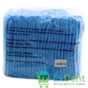 Шапочки - шарлотки медицинские, голубые, любой производитель (100 шт.)