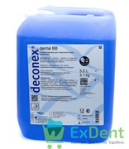 Дезинфицирующее средство Deconex (Деконекс) Dental BB (5 л), для боров и инструментов