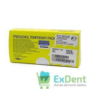 Freegenol (Фригенол) - безэвгенольный цемент для временной фиксации (55 г + 20 г)