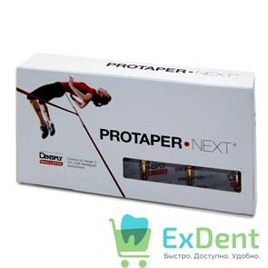 ProTaper (ПроТейпер) машинный NEXT X1, 25 мм, Dentsply,  для создания ковровой дорожки (3 шт)