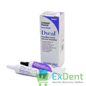 Dycal (Дайкал) - лечебный прокладочный материал на основе гидроксида кальция (13 г + 11 г)