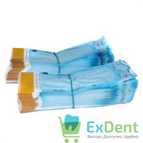 Пакеты для стерилизации Клинипак, 60 х 140 мм, самозапечатывающиеся (200 шт)