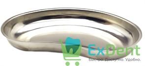 Лоток почкообразный ЛМП-260, объем 0,5 л, нержавеющая сталь (260 х 160 х 32 мм)