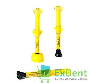 Temp-It (Темпит) Yellow - светоотверждаемый материал для временного пломбирования (3 х 3 г)