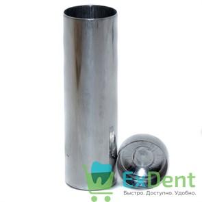 Гильза жесткая алюминиевая с крышкой, d=25 мм, высота 85 мм (20 шт)