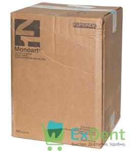 Салфетки для пациентов голубые 2-х слойные, Basic Monoart 33 х 45 см (500 шт)