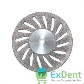 Диск (круг) алмазный, косая прорезь, зуботехнические (диаметр 22 мм) Агри