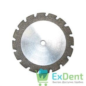 Диск (круг) алмазный, пила, зуботехнические (диаметр 22 мм) Агри