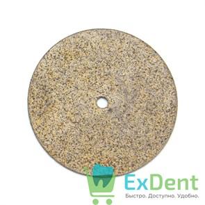 Диск (круг) алмазный, сплеченые, зуботехнические (диаметр 22 мм) 0,9 мм Агри