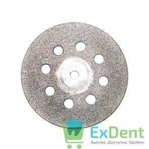 Диск (круг) алмазный, сплошной 8-отверстий, зуботехнические (диаметр 22 мм) Агри