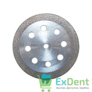 Диск (круг) алмазный, ободок 8-отверстий, зуботехнические (диаметр 22 мм) Агри