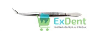 Пинцет зубной изогнутый (16 см) Legrin