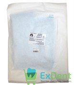 Халат хирургический, рукав на манжете, р.52-54, длина 110 см, 42 гр/м² стерильный (ХК-095)