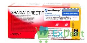 Gradia (Градия) Direct FLO OA3 - низкомодульный светоотверждаемый гибридный композит (2 х 1,5 г)
