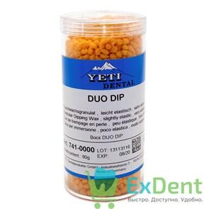 Воск погружной в гранулах DUO DIP, оранжевый (80 г)