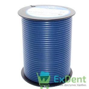 Восковая проволока Deton, D=3 мм, средняя твердость, синяя (250 г)