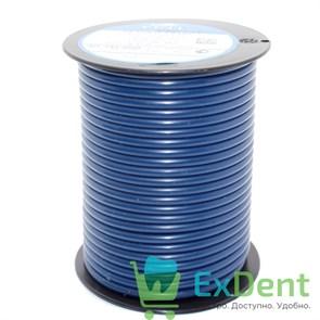 Восковая проволока Deton D=4 мм средняяя твердость, синяя (250 г)