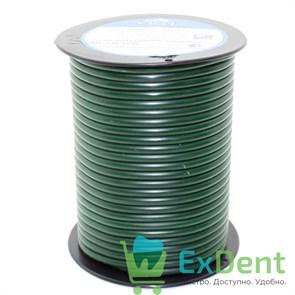 Восковая проволока Duron, D=4 мм, твердая, зеленая (250 г)
