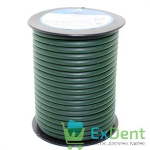 Восковая проволока Duron, D=5 мм, твердая, зеленая (250 г)
