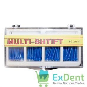 Штифты беззольные лабораторные синие 1,6 мм (80 шт), MULTI-SHTIFT