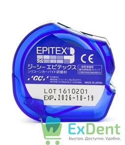 Штрипсы Epitex Medium, зеленые, зернистость средняя - для конечной обработки (10 м)