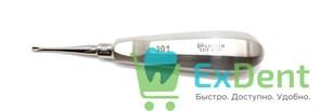 Элеватор №301 для удаления корней зубов прямой 2,5 мм