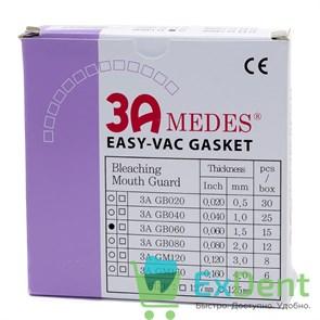 Пластины EV Gasket Bleaching - 1.5 круглые, для изготовления капп при отбеливании, 125 мм (15 шт)