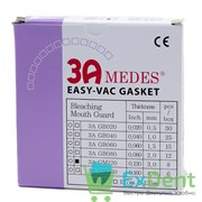 Пластины EV Gasket Bleaching - 3.0 квадрантные для изготовления капп при отбеливании, 127 мм (12 шт)