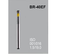 Боры алмазные Mani BR-40EF 001/014 FG - шарообразный, желтый (5 шт)