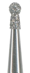 802-012C-FG Бор алмазный NTI, форма шаровидная (с воротничком), грубое зерно