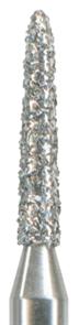877K-012M-FG Бор алмазный NTI, форма торпеда,коническая, среднее зерно