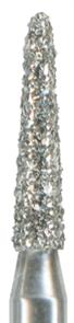 877K-014F-FG Бор алмазный NTI, форма торпеда, коническая, мелкое зерно