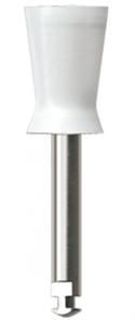 P1240 RA Полир (головка силиконовая), белая, средняя чаша NTI
