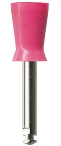 Полир (головка силиконовая) P1241, красная, средняя чаша NTI