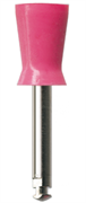 P1241 RA Полир (головка силиконовая), розовый, средняя чаша NTI