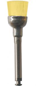 P1477 RA Щетка полировочная NTI желтая (твердая) D = 7 мм, длина 7 мм