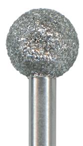 C801-042M-HP Хирургический инструмент NTI, форма шаровидная, среднее зерно, без кольца/синее