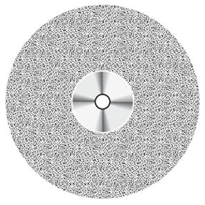 Диск алмазный CeraShape (D = 22 мм, толщина 0,3 мм) NTI желтый, с не режущим кантом