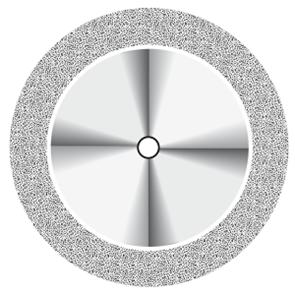 Диск алмазный Flex (D = 22 мм, толщина 0,3 мм) NTI синий, с двухсторонним покрытием