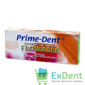 PrimeDent (ПраймДент)  Flow А2 - композит (4 х 2 г)