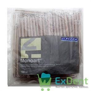 Наконечники для слюноотсосов безцветные, гибкие, Monoart (100 шт)
