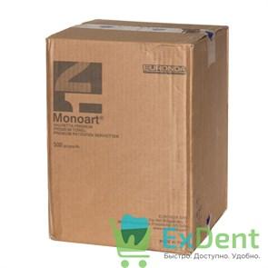 Салфетки для пациентов синие 3-х слойные, Premium Monoart 33 х 45 см (500 шт)