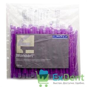 Наконечники для слюноотсосов лиловые, гибкие, Monoart (100 шт)