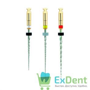 REVO-S SC2 L25 Ni-Ti машинные инструменты для первичного эндодонтического лечения (3шт)