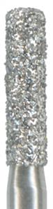 Бор алмазный на угловой наконечник 018 цилиндрический, синий (универсальная обработка)