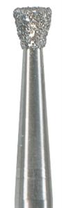 Бор алмазный на угловой наконечник 018 обратный конус, красный (финишная обработка)