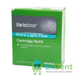 Variotime Extra Light Flow - А - силиконовый материал для снятия оттисков тип 3 (2 х 50 мл)