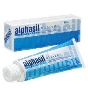 Alphasil (Альфасил) medium - С-силиконовый оттискный материал, средней текучести (150 мл)